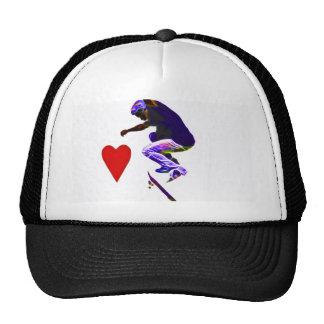 Love Skateboarding Trucker Hat