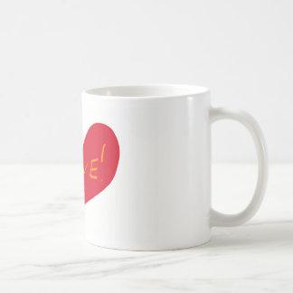 Love sketch coffee mug