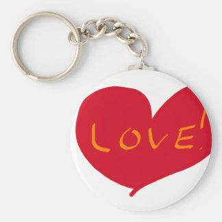 Love sketch keychain