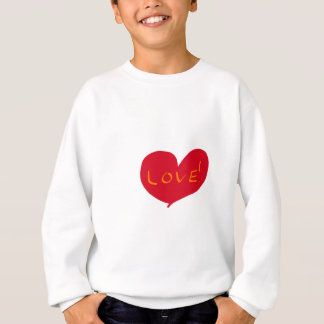 Love sketch sweatshirt