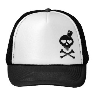 Love-Skull-003 Trucker Hat