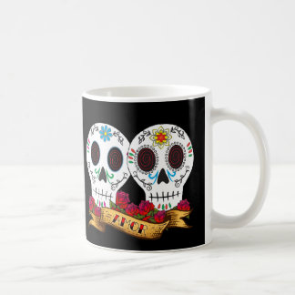 "Love Skulls ""Amor"" Coffee Mug"