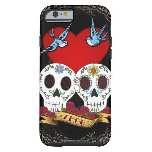 Love Skulls iPhone 6 Case