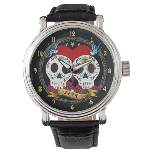 Love Skulls Watch