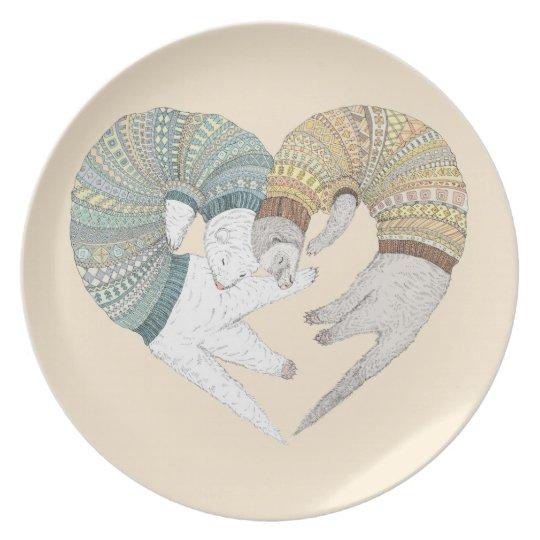 Love sleep plate