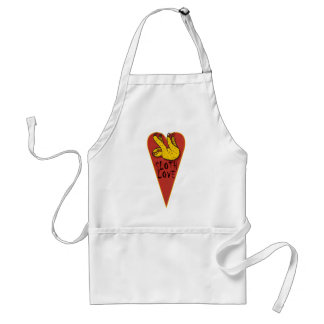 Love Sloth Standard Apron