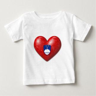 Love Slovenia Baby T-Shirt
