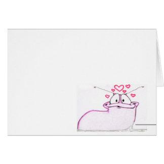 love slug card