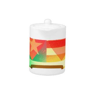 Love Smile America flag Emoji Spray Paint Art