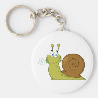 Love Snail Keychain