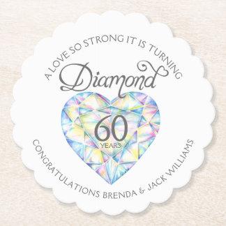 Love so strong diamond wedding coasters