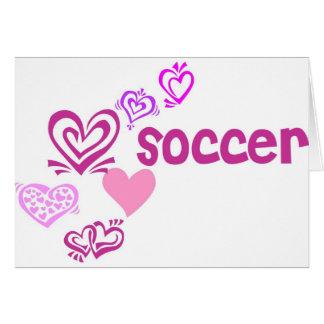Love Soccer Card