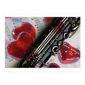 love songs 4 U Postcard