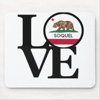 LOVE Soquel California Mousepad