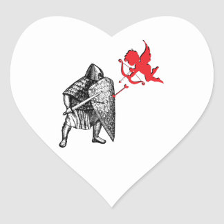 Love Spat Heart Sticker