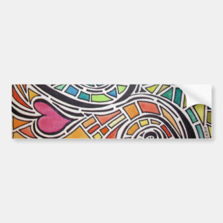Love Spectrum bumper sticker