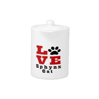 Love Sphynx Cat Designes