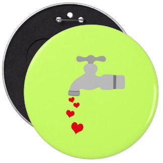 Love Spigot Pinback Buttons