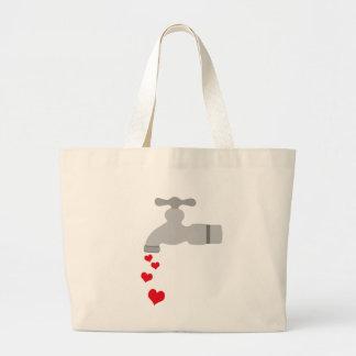 Love Spigot Jumbo Tote Bag