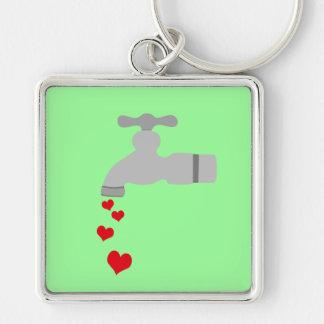 Love Spigot Key Chain