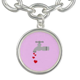 Love Spigot Charm Bracelet