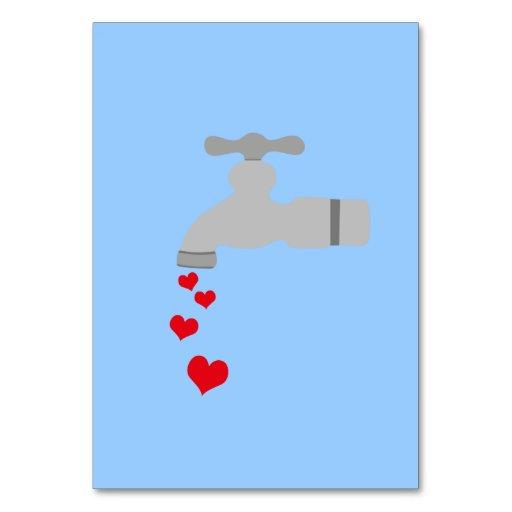 Love Spigot Table Card