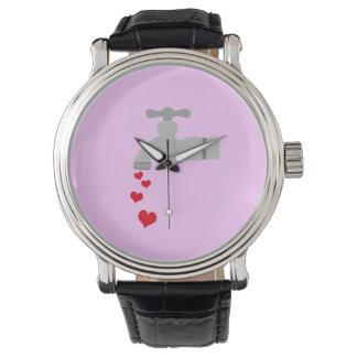 Love Spigot Wrist Watch