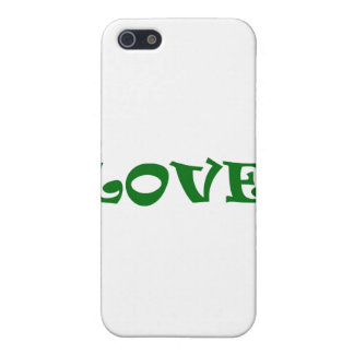 Love Squared in Green iPhone 5 Covers