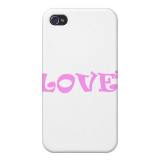 Love Squared in Pink iPhone 4/4S Covers