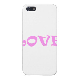 Love Squared in Pink iPhone 5 Cover