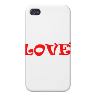 Love Squared in Red Cases For iPhone 4
