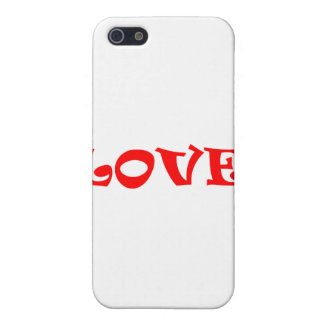 Love Squared in Red iPhone 5/5S Cases