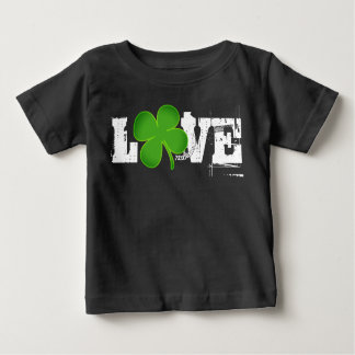 LOVE ST. PATRICK'S DAY BABY TSHIRT UNISEX CLOVER