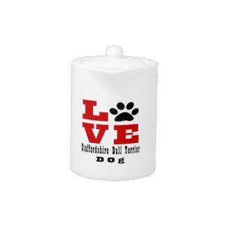 Love Staffordshire Bull Terrier Dog Designes