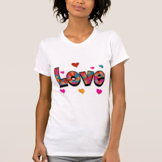 """""""LOVE"""" Stained Glass Look Gifts Shirts"""