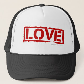 Love Stamp - Valentines Day special cupid gf bf Trucker Hat