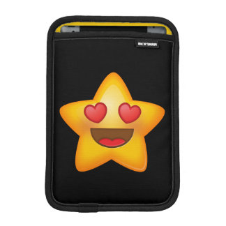 Love Star Emoji iPad Mini Sleeve