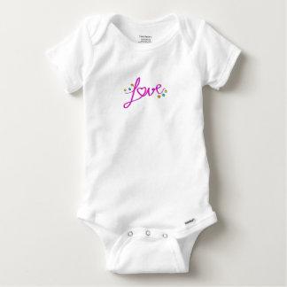 Love Stars Baby Onesie