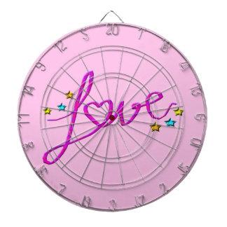 Love Stars Dartboard