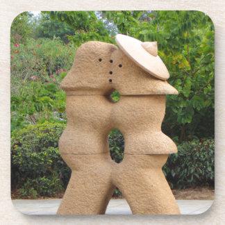 Love statues, Guilin, China Coaster