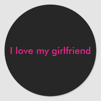 Love sticker for your girlfriend