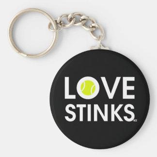 LOVE STINKS KEYCHAIN