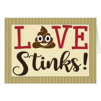 Love Stinks Valentine's Card