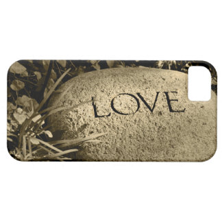 """""""Love"""" Stone Case For The iPhone 5"""