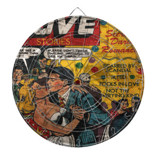 Love stories dart board
