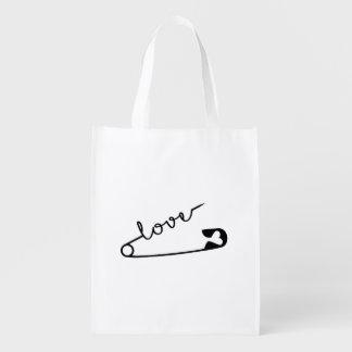 Love Strength Together Reusable Grocery Bag
