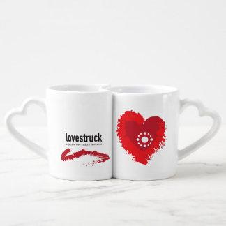 Love-struck Couple Coffee Mug Set
