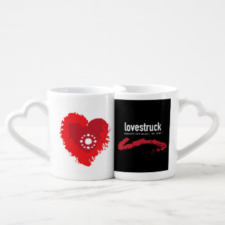 Love-struck Couple RB Coffee Mug Set