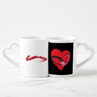 Love-struck Couple Set Coffee Mug Set