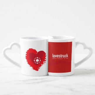 Love-struck RedCouple (Set of coffee cups) Coffee Mug Set